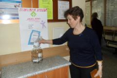 Сотрудники ГАУЗ «Городская поликлиника №10» поддержали благотворительную акцию «Чья-то жизнь уже не мелочь!»