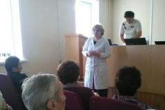 В ГАУЗ «Городская поликлиника №10» была проведена Школа здоровья на тему «Здоровое сердце. Артериальная гипертония. Атеросклероз. Профилактика сердечно-сосудистых осложнений».