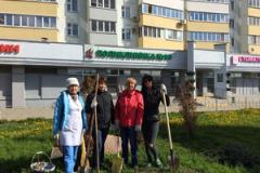 Коллектив ГАУЗ «Городская поликлиника №10» принял участие в общегородском субботнике.