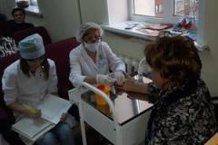 """В ГАУЗ """"Городская поликлиника №10"""" 16 ноября состоялась Школа здоровья на тему «Сахарный диабет- проблема XXI века»."""