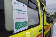 У метро приостанавливают свою работу мобильные пункты вакцинации