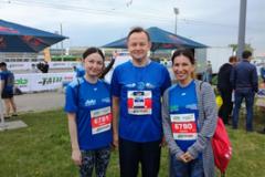 Сотрудники ГАУЗ «Городская поликлиника №10» приняли участие в Казанском марафоне