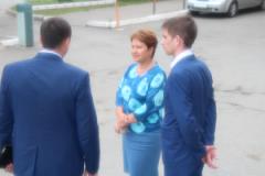 Сабурская Сария Харисовна посетила ГАУЗ «Городская поликлиника №10»